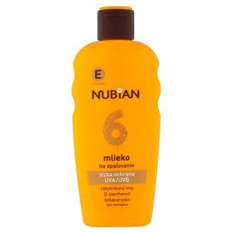 Nubian Mléko na opalování SPF 6 200ml