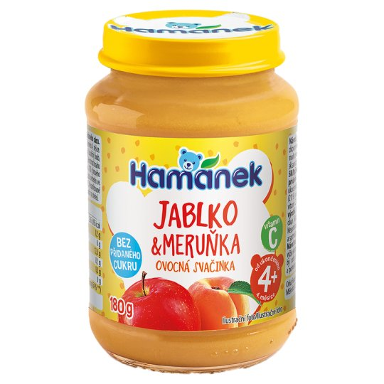 Hamánek S meruňkami 180g