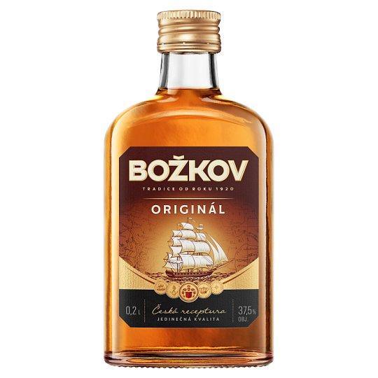 Božkov Original Tuzemak Rum 0.2L