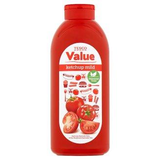 Tesco Value Mild Ketchup 1kg