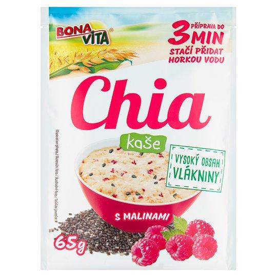 Bona Vita Chia kaše s malinami 65g