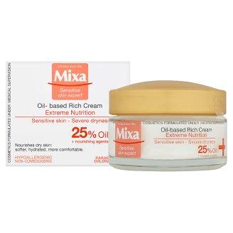 image 2 of Mixa Sensitive Skin Expert Rich Nourishing Cream with Primrose Oil 50ml