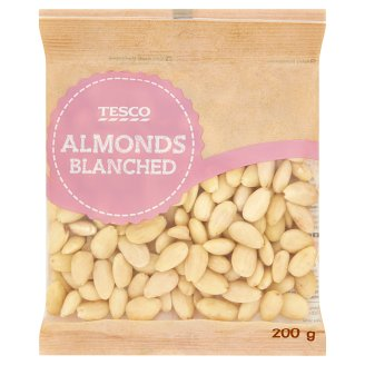 Tesco Almonds Blanched 200g