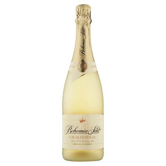 Bohemia Sekt Chardonnay Brut jakostní šumivé víno bílé 0,75l