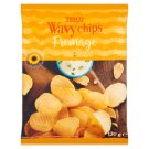 Tesco Wavy Chips Fromage 130g