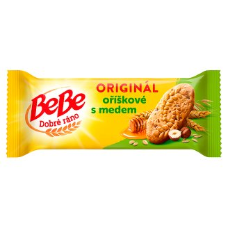 Opavia BeBe Dobré Ráno Whole Grain Biscuits with Hazelnuts and Honey 50g