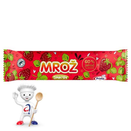 Prima Mrož Frozen Strawberry Ice Cream in Cocoa Icing 60ml