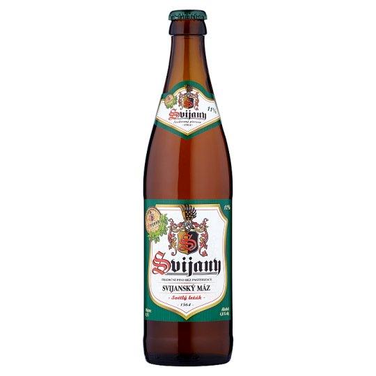 Svijany Svijanský máz pivo světlý ležák 0,5l
