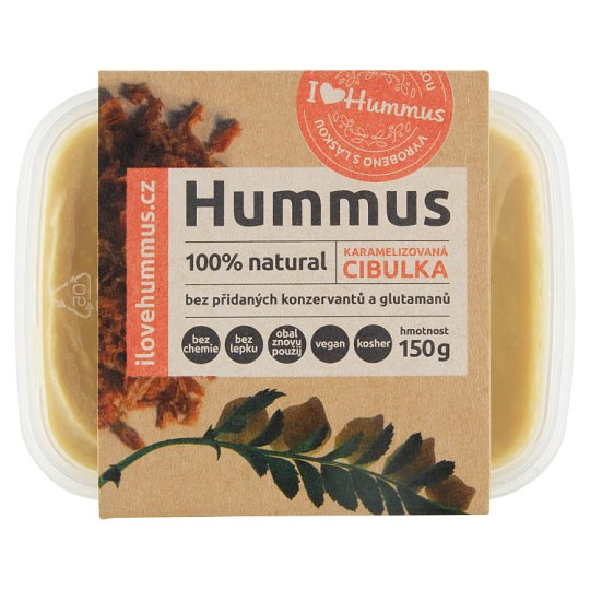I Love Hummus Hummus Caramelized Onion 150g