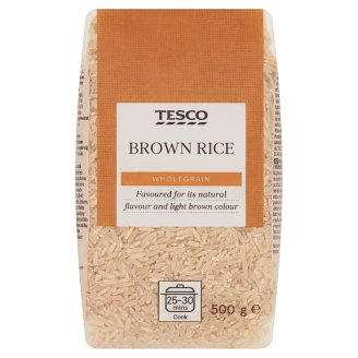 Tesco Wholegrain Rice 500g