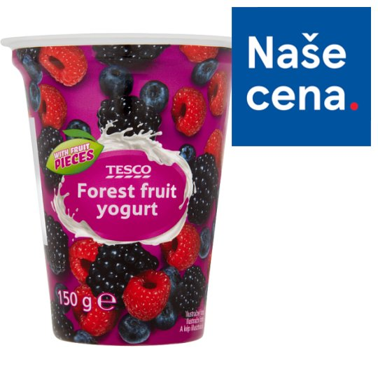 Tesco Forest Fruit Yogurt 150g