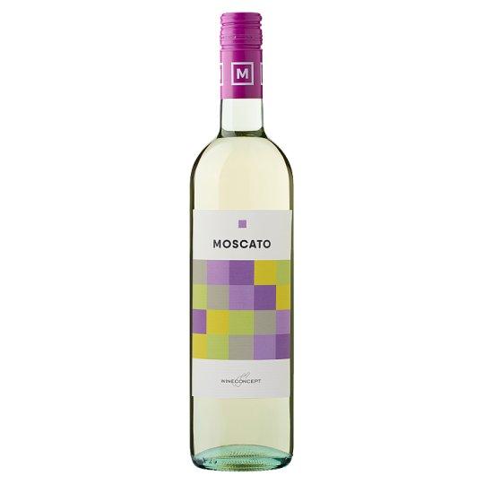 Wine Concept Moscato Ottonel Quality Semi-Sweet White Wine 0.75L