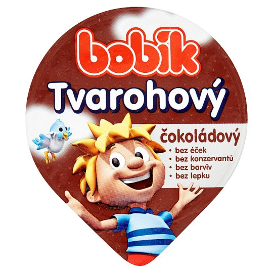 Bobík Curd and Chocolate Cream 80g