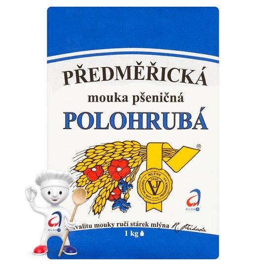 Mlýny J. Voženílek Předměřická mouka pšeničná polohrubá 1kg