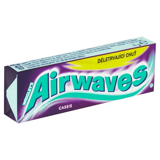 Wrigley's Airwaves Cassis 10 pcs 14g
