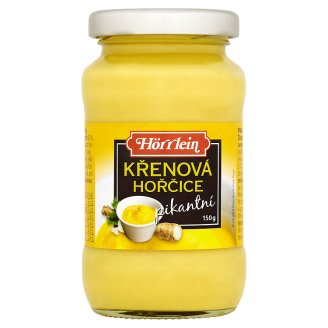 Hörrlein Spicy Horseradish Mustard 150g