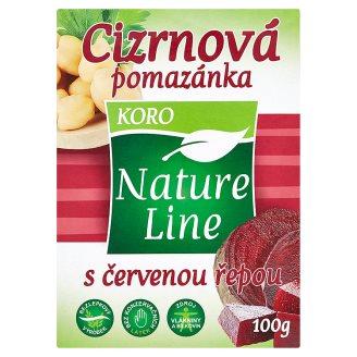 Nature Line Cizrnová pomazánka s červenou řepou 100g