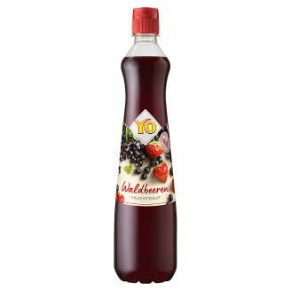 YO Fruit Syrup from Forest Fruit 0.7L