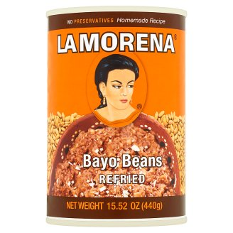 La Morena Bayo Beans Refried 440g