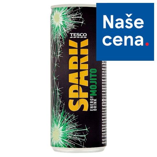 Tesco Spark Energy Drink Mojito 250ml