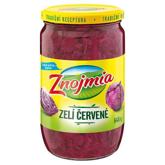 Znojmia Red Pickled Cabbage 640g
