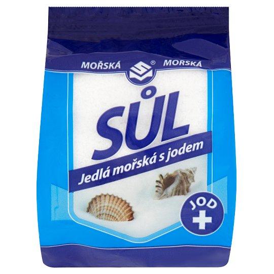 Solné Mlýny Jedlá mořská sůl s jodem 500g