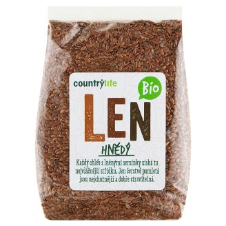 Country Life Organic Flax Brown 300g