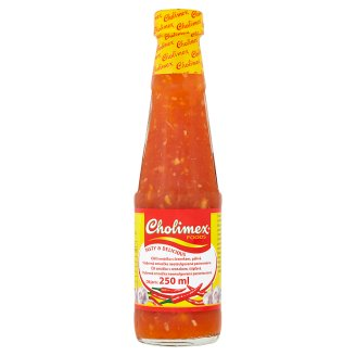 Cholimex Foods Chilli omáčka s česnekem pálivá 250ml