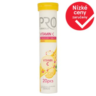 Tesco Pro formula Vitamin C 20 tablet 80g