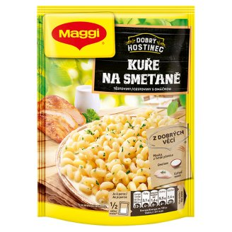 MAGGI Dobrý Hostinec Chicken Pasta Cream with Sauce Bag 142g