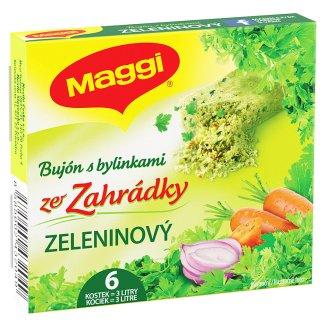 MAGGI Ze Zahrádky bujón s bylinkami zeleninový v kostce 3l 6 x 9g