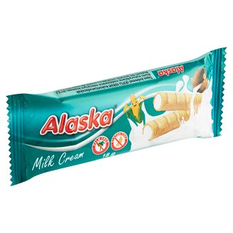 Alaska Corn Tubes Filled with Milk Cream 18g