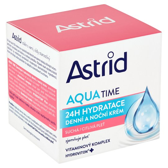 Astrid Aqua Time Denní a noční krém suchá a citlivá pleť 50ml