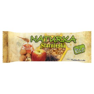 Naturka Staročeská Organic Cereal Bar 30g