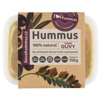 I Love Hummus Hummus černé olivy 150g