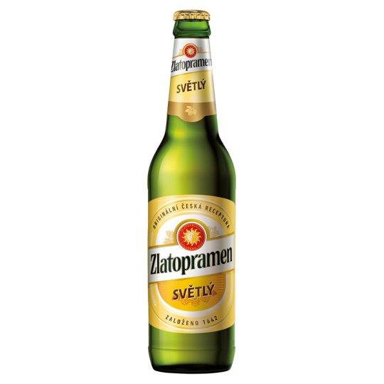 Zlatopramen pivo výčepní světlé 0,5l
