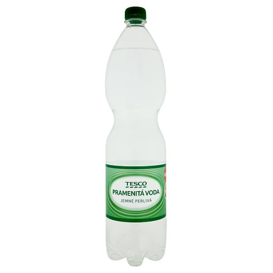 Tesco Spring Lightly Carbonated Water 1.5L