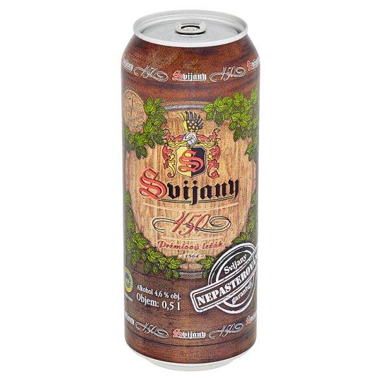 Svijany 450 Beer Premium Lager 0.5L