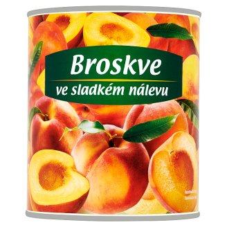 Peaches Halves in Sweet Brine 820g