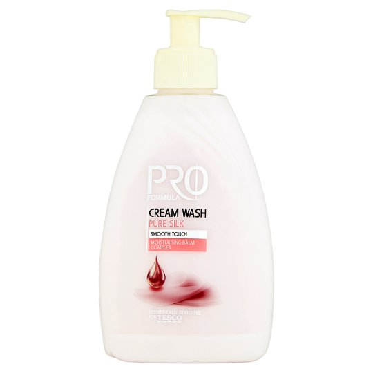 Tesco Pro Formula Pure Silk tekuté krémové mýdlo 300ml