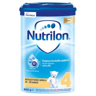 Nutrilon 4 Pronutra Vanilka batolecí mléko s vanilkovou příchutí od uk. 24. měsíce 800g