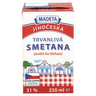 Madeta South Bohemia Long-Life Cream 250ml