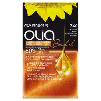 Garnier Olia Permanentní barva na vlasy intenzivní měděná 7.40