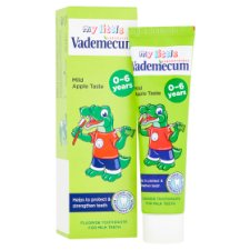 image 2 of Vademecum My Little Toothpaste for Milk Teeth Mild Apple Taste 50ml