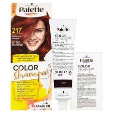 image 2 of Schwarzkopf Palette Color Shampoo Hair Color Mahogany 217