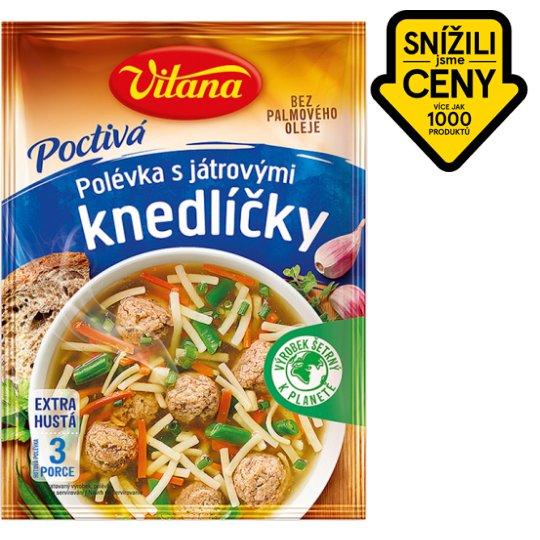 Vitana Poctivá polévka with Liver Dumplings Mix 92g