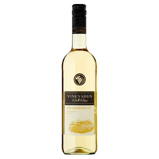 Vineyards World Wines Chardonnay Dry White Wine 750ml
