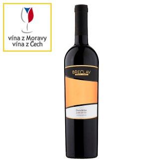 Rodinné Vinařství Břeclav Dornfelder víno s přívlastkem pozdní sběr červené polosuché 0,75l