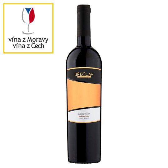 Rodinné Vinařství Břeclav Dornfelder víno s přívlastkem pozdní sběr červené polosladké 0,75l