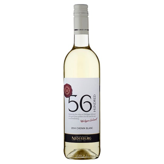 56 Hundred Chenin Blanc Medium White Dry Wine 750ml